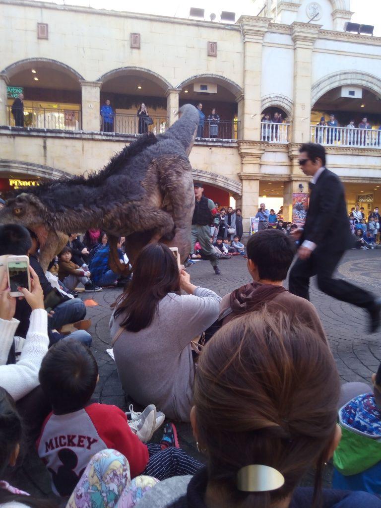 恐竜ショー「ジュラグーナ」